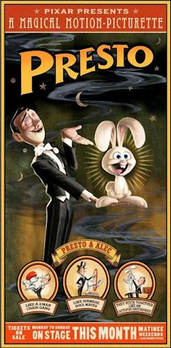 Presto affiche du court-métrage
