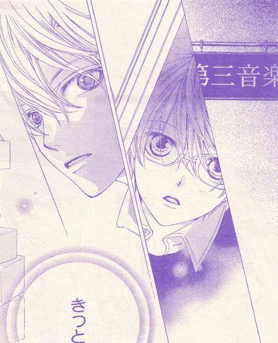 Le premier regard entre Haruhi et Tamaki